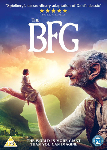 Bfg Dvd Cover: The BFG: What Makes Friendship So Special?